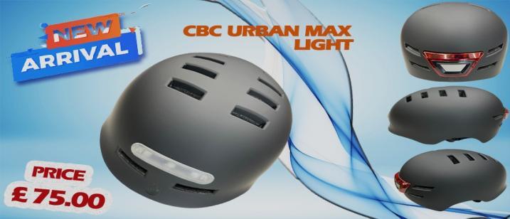 CBC urban Max Light Helmet Banner